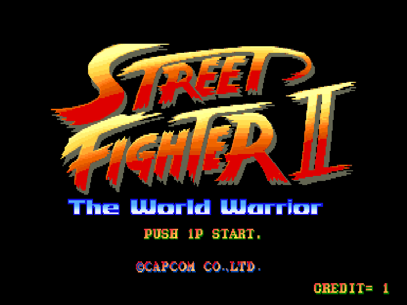 Street Fighter 2 - The World Warrior